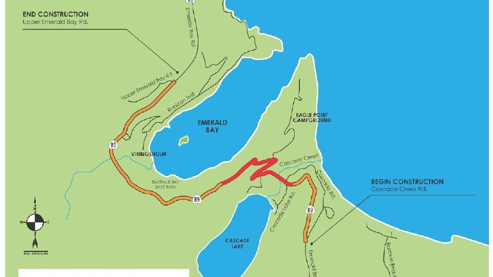 Lake Tahoe road closures to impact motorists KRNV
