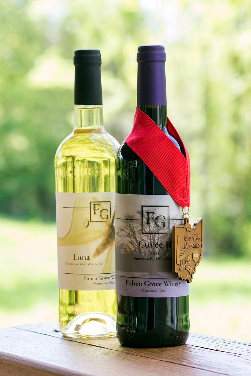 <p>The wines have won multiple awards, even best in show in the 2018 Ohio Wine Competition. / Image: Allison McAdams // Published: 5.30.19</p>