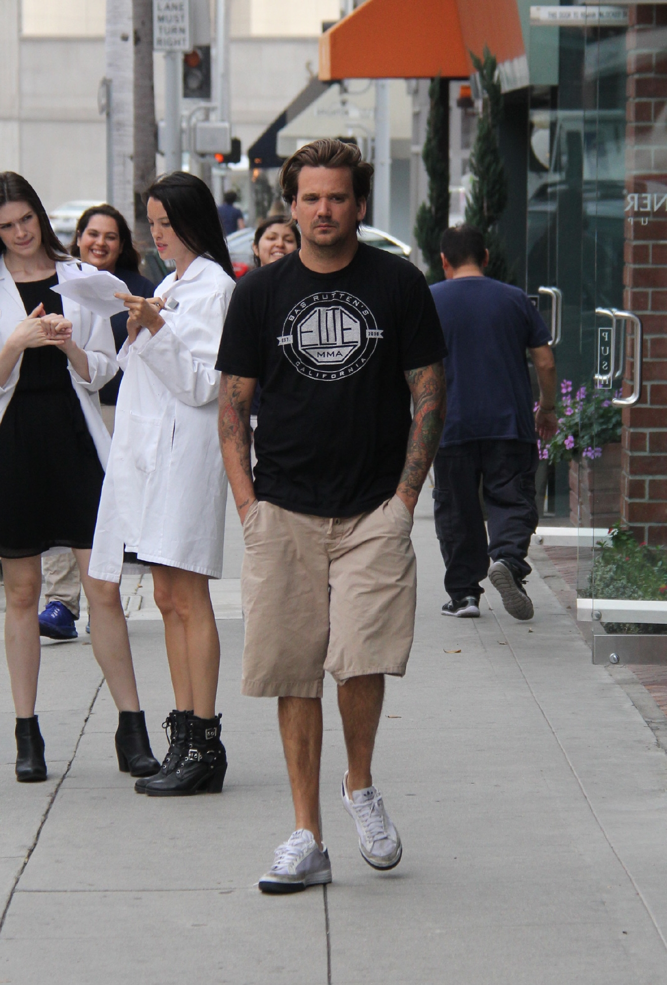 Sean Stewart out running errands on North Bedford Drive in Beverly Hills  Featuring: Sean Stewart Where: Los Angeles, California, United States When: 04 Mar 2016 Credit: WENN.com