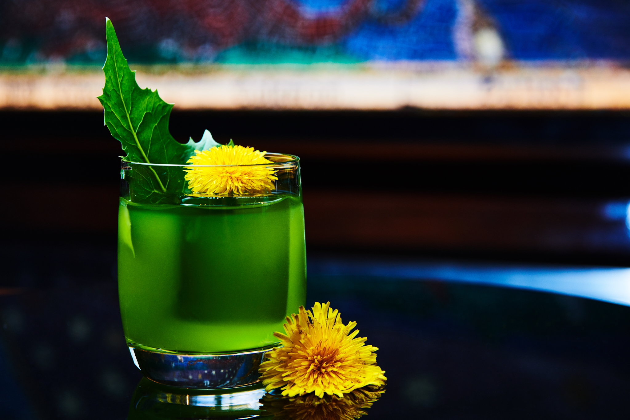 The Dandelion, made with Bianco aperitivo and Botanist gin, is new on the Columbia Room tasting menu. (Image: Karlin Villondo Photography)