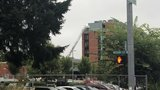 Aspersores sofocan un incendio en el hospital Salem Health