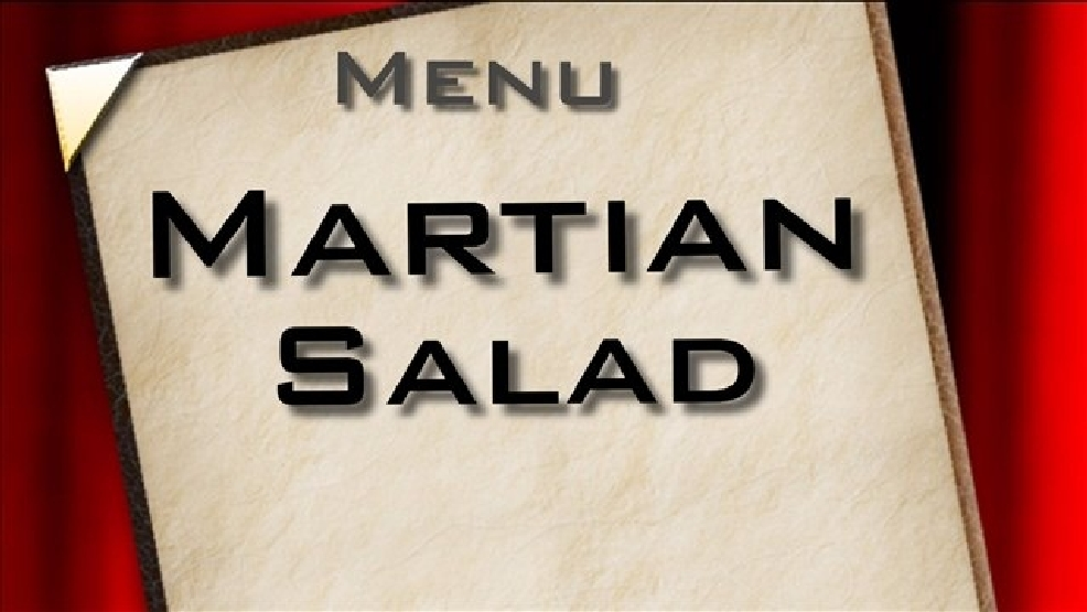Menu du jour: Martian salad   KABB