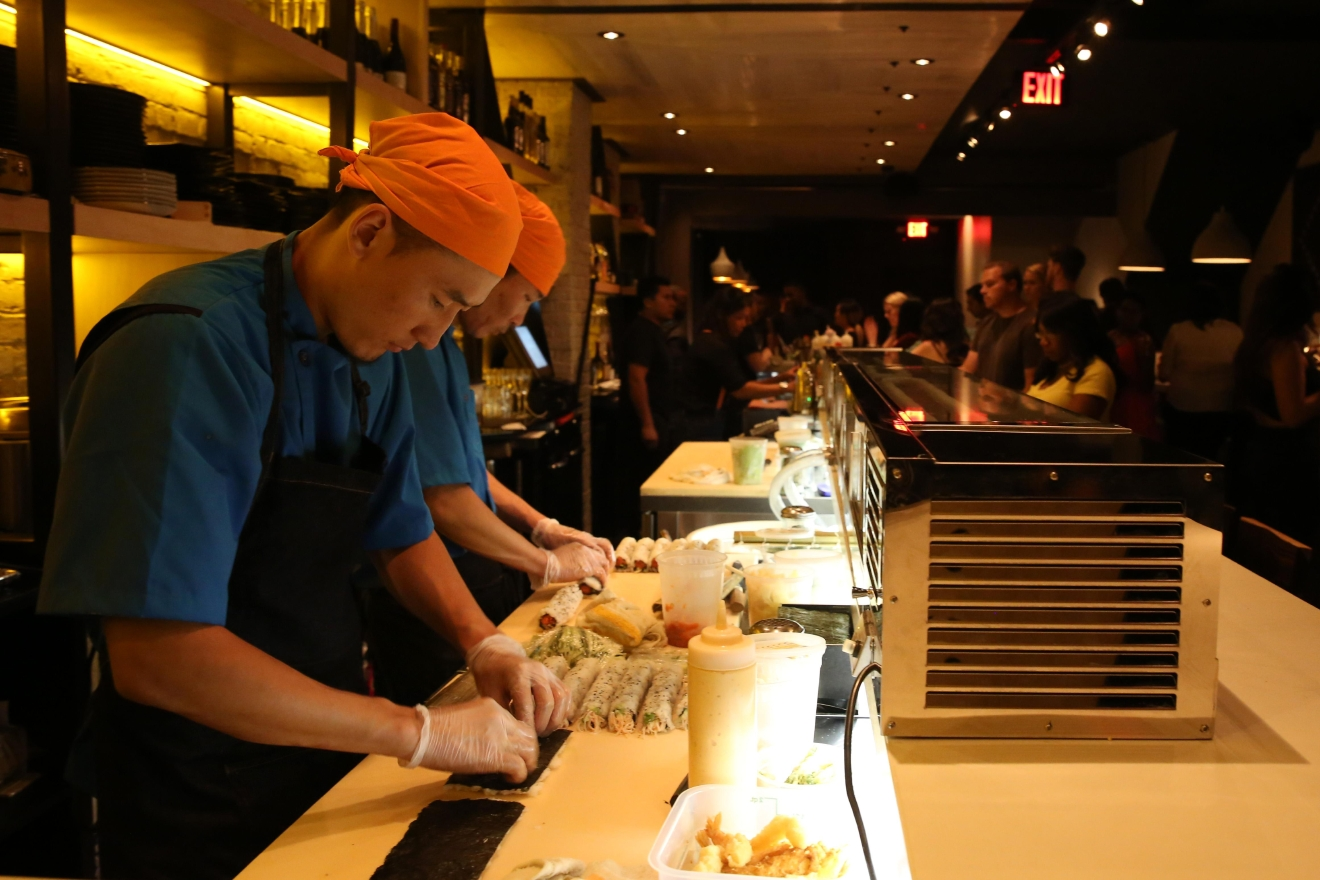 The New Asian Latin Sushi Bar Sakerum With Izakaya And