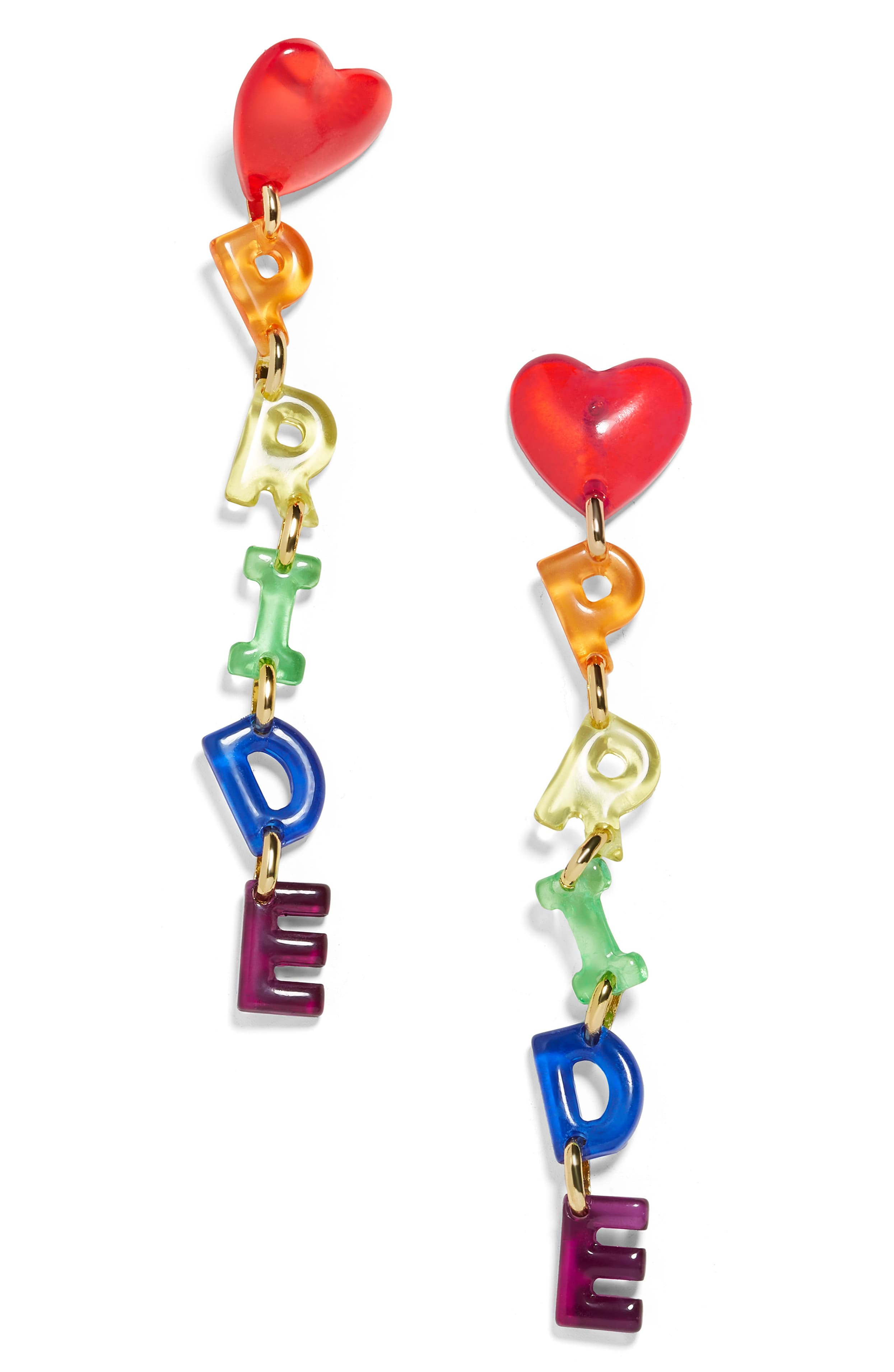 Celebrate Pride all month long (and beyond) with these darling drop earrings - it's the perfect way to express yourself.{ }Price $38 (Image: Nordstrom){ }