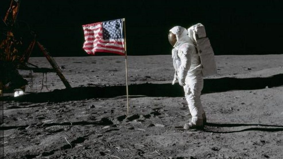 via CNN Aldrin and flag on moon_.jpg
