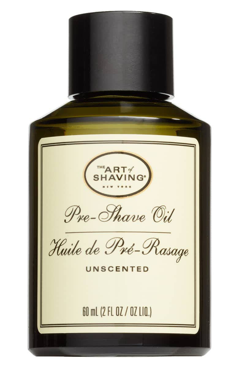 The Art of Shaving Pre-Shave Oil, $25.{ }The men in our lives work hard! Gift them something they'll feel appreciated in this holiday season! (Image courtesy of Nordstrom).