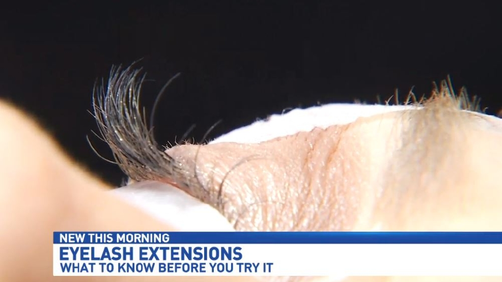 Lashing Out The Dangers Of Eyelash Extensions Wear