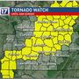 Tornado Watch for parts of Tennessee through Saturday evening