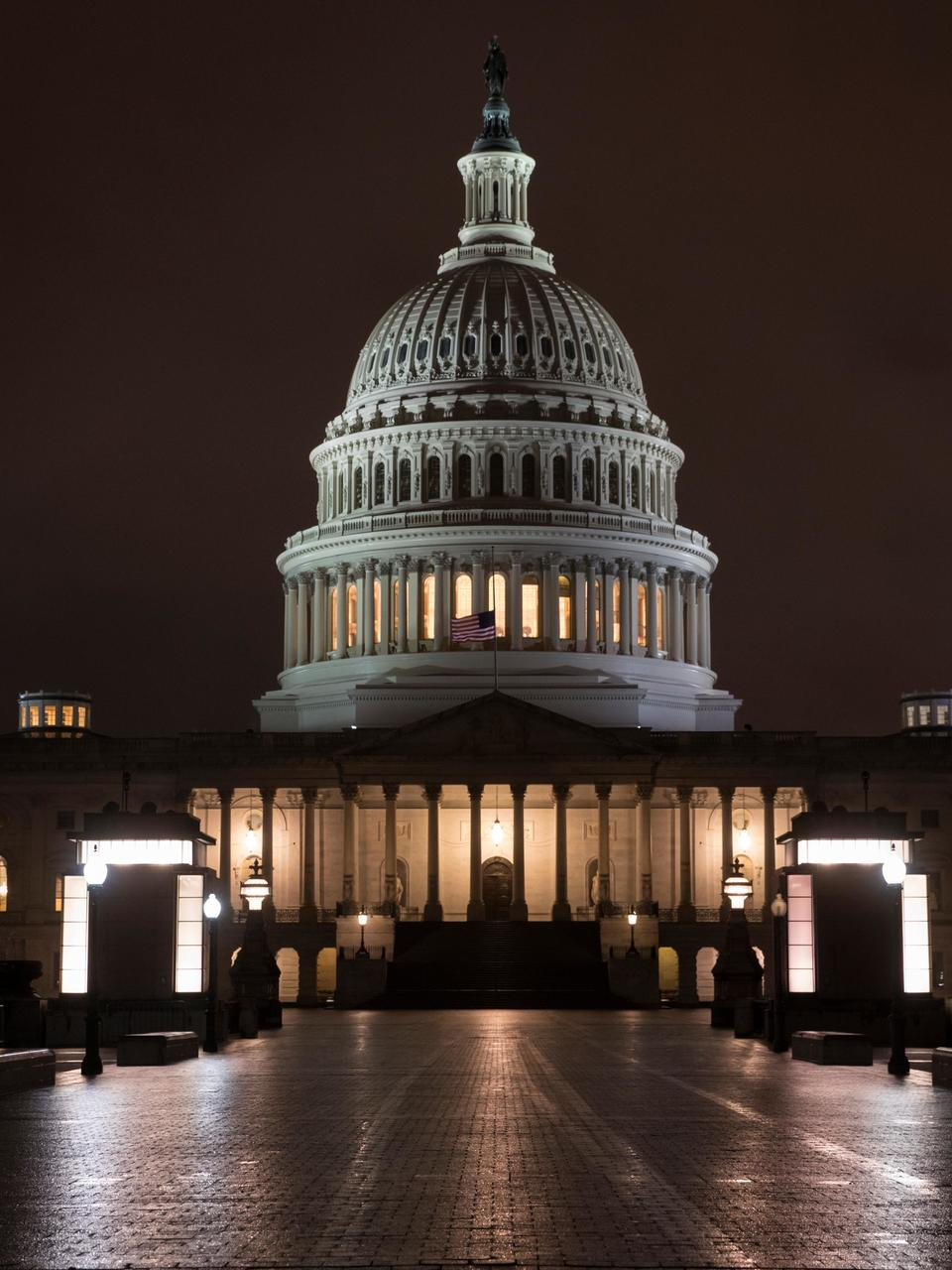 Spending Bill Remains Contentious As It Heads To Senate For