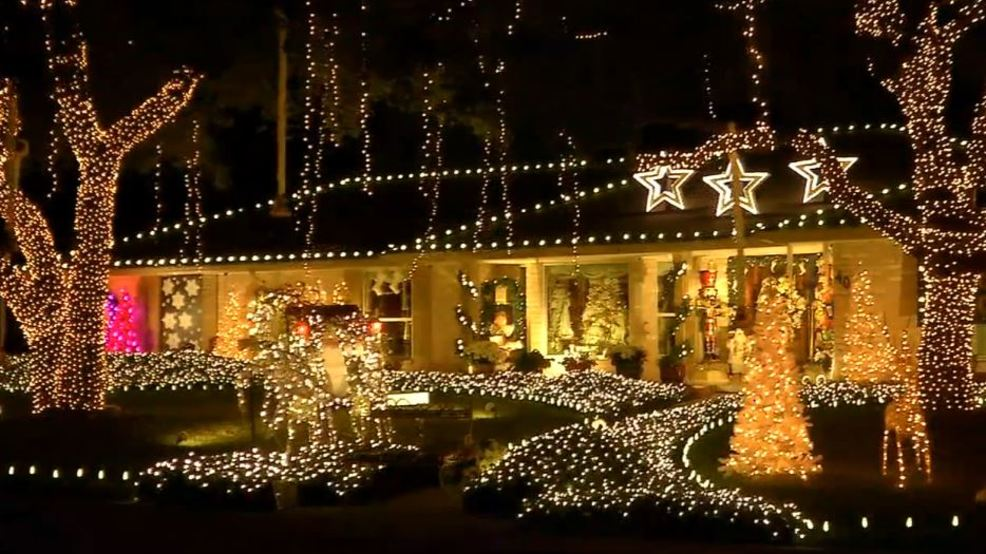 bumper to bumper traffic for windcrest christmas lights - Windcrest Christmas Lights