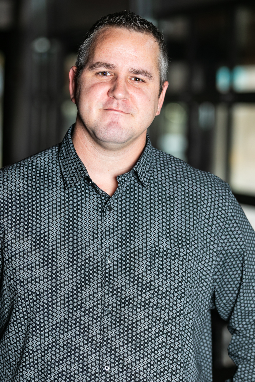 Eric Pegram, Galla Park's VIP Host and evening General Manager{ }/ Image: Amy Elisabeth Spasoff // Published: 11.28.18