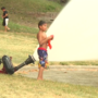 Fire and rescue holds hydrant party at Cook Park