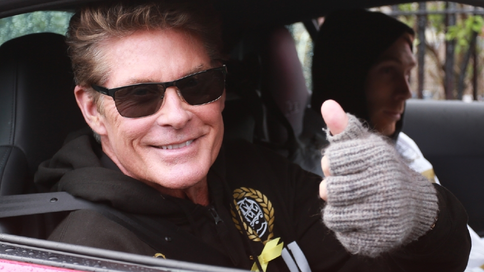 David Hasselhoff's muscles impressed on 'Baywatch' set