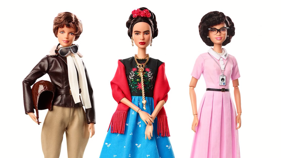 Barbie unveils new dolls ahead of International Women's Day
