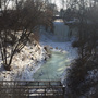 Frozen waterfalls attract visitors to Brown County parks