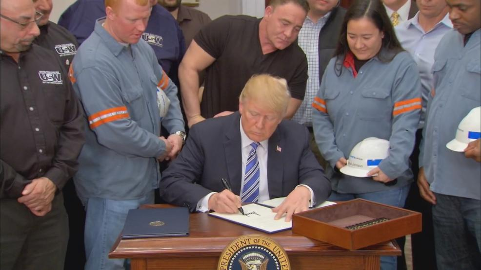 The tariffs announced by President Trump Thursday could hurt many small businesses which buy steel and aluminum. Craft brewers said the tariff could nickel and dime them into spending thousands of dollars more every year. (WSYX/WTTE)