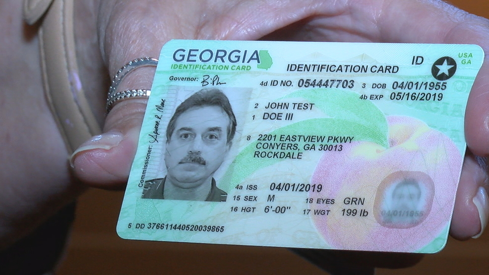 Georgia driver's licences get fresh design meant to keep you