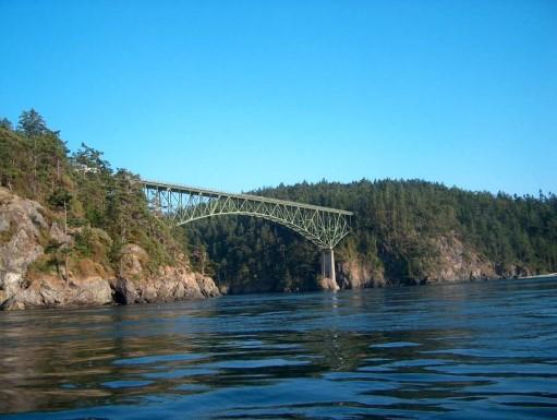 Washington's most visited state park, Deception Pass is located on an astounding 3,854 acres, with 77,000 feet of saltwater shorelines and 33,900 feet of freshwater shorelines on three lakes. (Image: Washington State Parks)