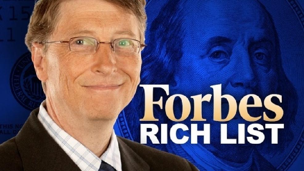 Forbes-მა მილიარდერთა 2016 წლის რეიტინგი გამოაქვეყნა