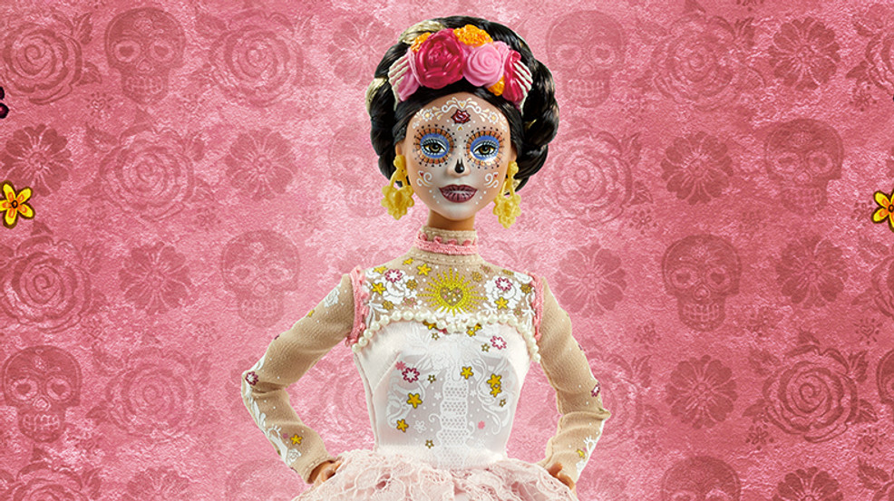 Barbie unveils new doll for 'Day of the Dead' collection to honor Mexican holiday