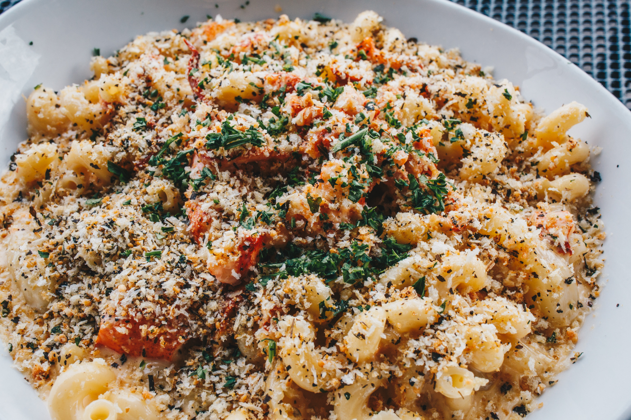 Lobster mac and cheese / Image: Catherine Viox // Published: 10.17.18