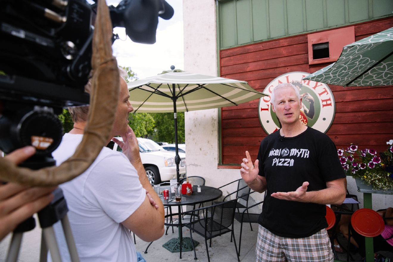 On a recent trip to Lake Chelan, we were tasked with exploring multiple wineries, restaurants, activity centers and views to put into a half-hour TV show. Tough life right? Well actually, it really is - because we could go on and on about the things we saw for much longer than 30 minutes. Soooo we are going to do a quick Chelan Spotlight every week to highlight some of the places we saw! This week, it's all about Local Myth Pizza. Yeah - there was a lot of wine tasting on our trip, but a person needs to eat too! Local Myth is open year round, and there to fill the pizza-shaped hole in your life. They pride themselves in hand-rolled, hand-crafted artisan pizzas and calzones, and have 10 local beers on tap, and over 30 local wines to choose from. (Image: Joshua Lewis / Seattle Refined)