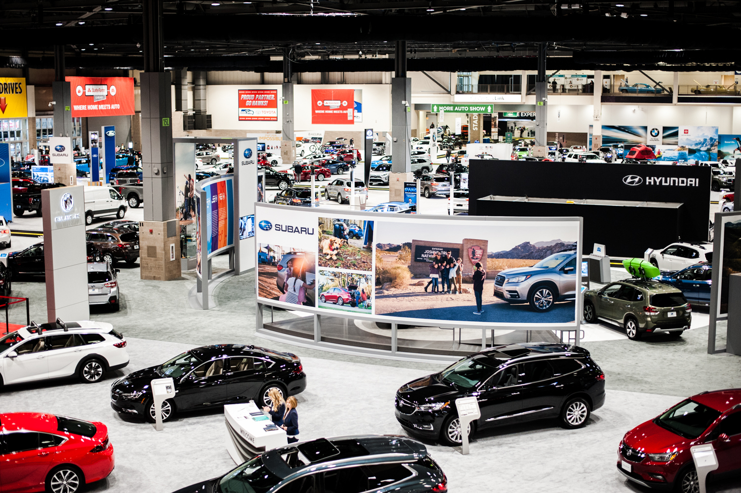 The Seattle International Auto Show{ }showcases all that's new in cars, trucks, exotics, super cars, electrics and all the latest models from the world's automobile makers. We scoured the place for the most expensive vehicles we could find - and aye caramba - some of these are literally the cars of our dreams. The Auto Show runs Nov. 9-12, 2018 at CenturyLink Field Event Center. (Image: Elizabeth Crook / Seattle Refined)