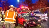 Firefighters free driver after Seattle crash
