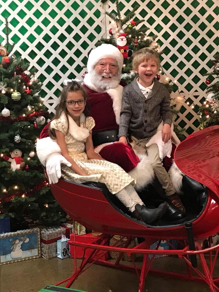 Hilarious photos of kids crying while sitting on Santa's lap, sent in by viewers.
