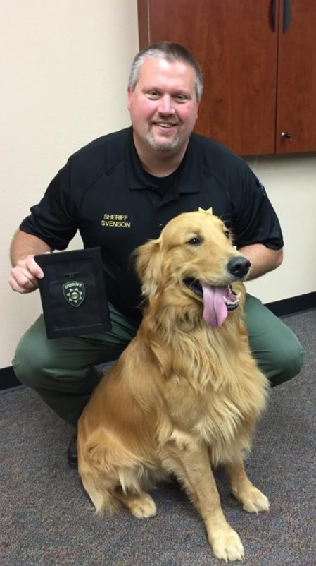 A golden retriever in Yamhill County found $85,000 worth of black tar heroin when he was digging in his backyard. Photo courtesy Yamhill County Sheriff's Office.