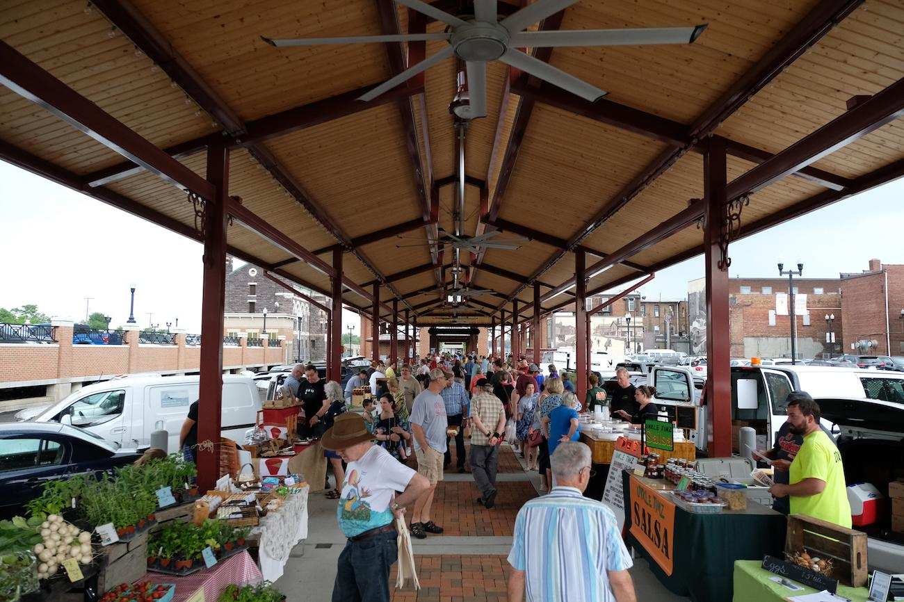 Open every Tuesday and Friday evening in May through October, Newark's Canal Market District is dedicated to connecting local farmers with nearby markets. Arts and crafts markets are held on select dates. ADDRESS: 36 E Canal Street, Newark, OH (43055) / Image: Garrett Martin via Explore Licking County // Published: 8.23.19