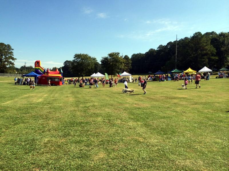 WOOFstock 2013 at Veterans Park in Hoover.