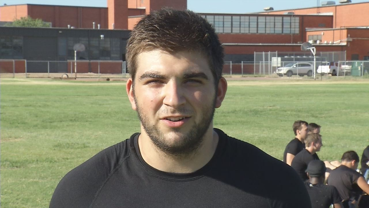 Abilene High's Jake McMillon talks about the upcoming season.