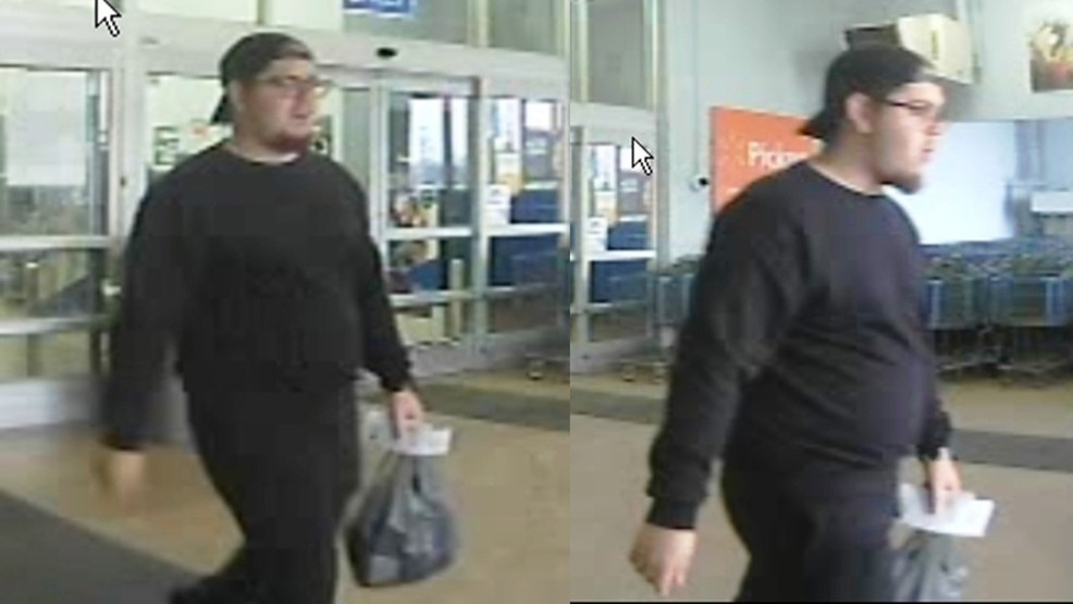 survelliance video of suspect in watertown walmart incident new york state police