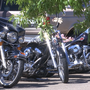 Hundreds of bikers attend Bandidos chapter president's funeral