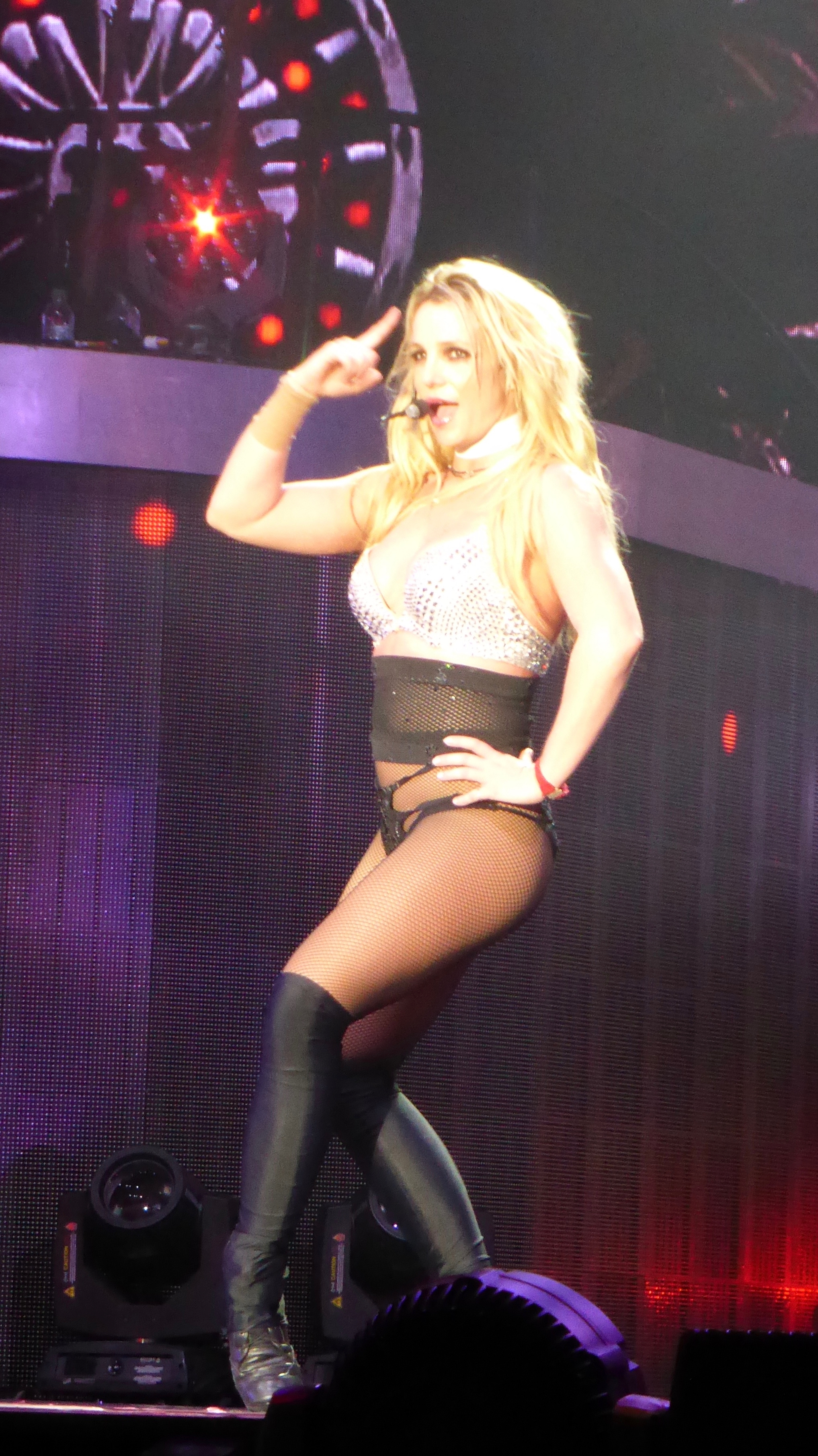 Britney Spears piece of me tour BlackpoolFeaturing: Britney Spears, BlackpoolWhere: Blackpool, United KingdomWhen: 01 Sep 2018Credit: WENN.com
