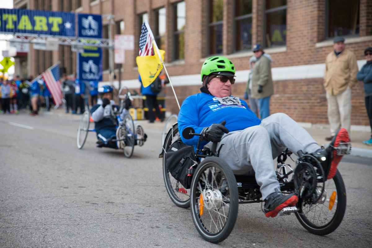 The DAV (Disabled American Veterans) 5K, a walk to honor our veterans, took place on Saturday, November 11 at Sawyer Point. / Image: Sherry Lachelle Photography // Published: 11.12.17
