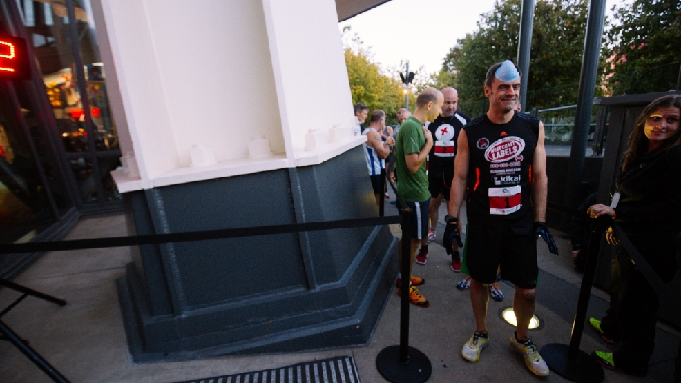 Thousands climb the Space Needle stairs for a good cause