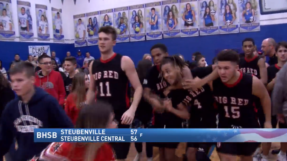 12.6.19 Highlights - Steubenville vs. Steubenville Central - Boys high school basketball