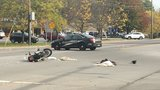 Motorcyclist in guarded condition after Penfield crash