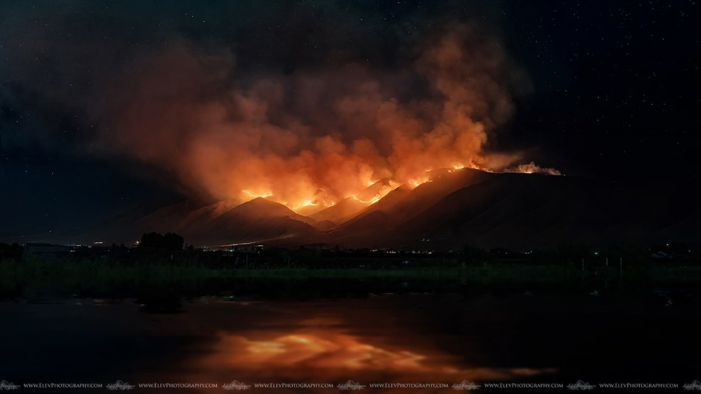 Fire in Utah County grows to 6,500 acres