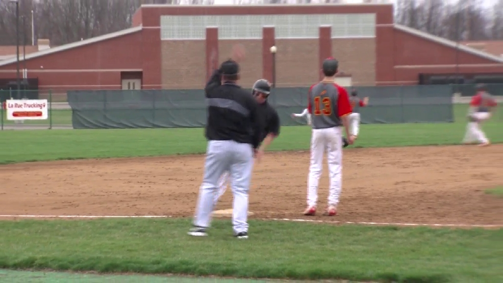 4.3.17 Highlights - Steubenville vs Indian Creek - high school baseball