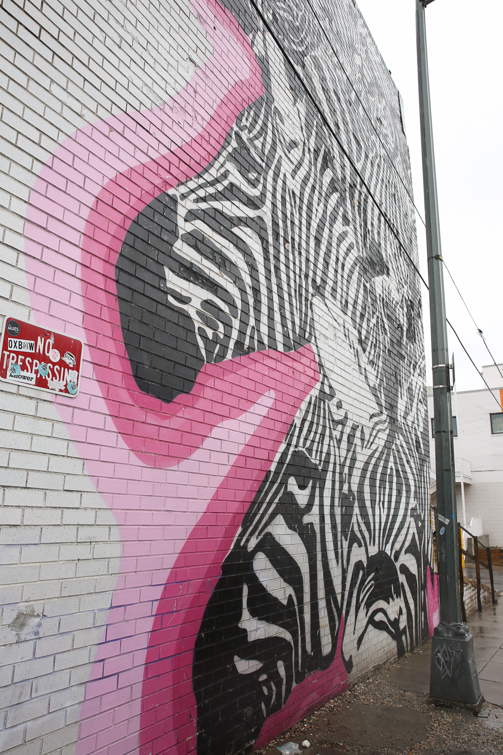 On the 5th Street side of the market, you'll find this underrated zebra mural. Sometimes there are delivery trucks parked in front of the mural, but you can definitely get an Instagram-worthy pic with a little bit of maneuvering.{ }(Amanda Andrade-Rhoades/DC Refined)