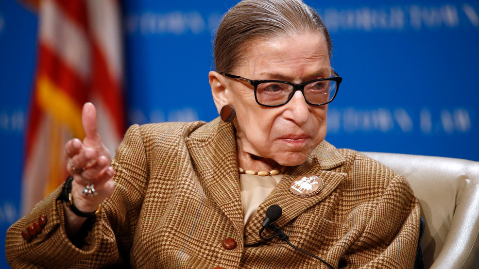 FILE - Supreme Court Justice Ruth Bader Ginsburg (Photo credit: Associated Press)