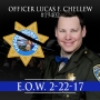 CHP officer dies after crashing during a chase