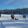 It was a perfect day for fishing enthusiasts at Winchester Lake Ice Fishing Derby