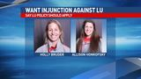 Attorney files for injunction against LU on behalf of fired women's softball coach