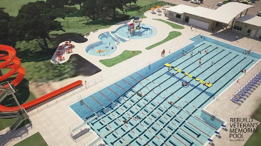 Veterans Memorial Pool Receives 200k From City Of Walla