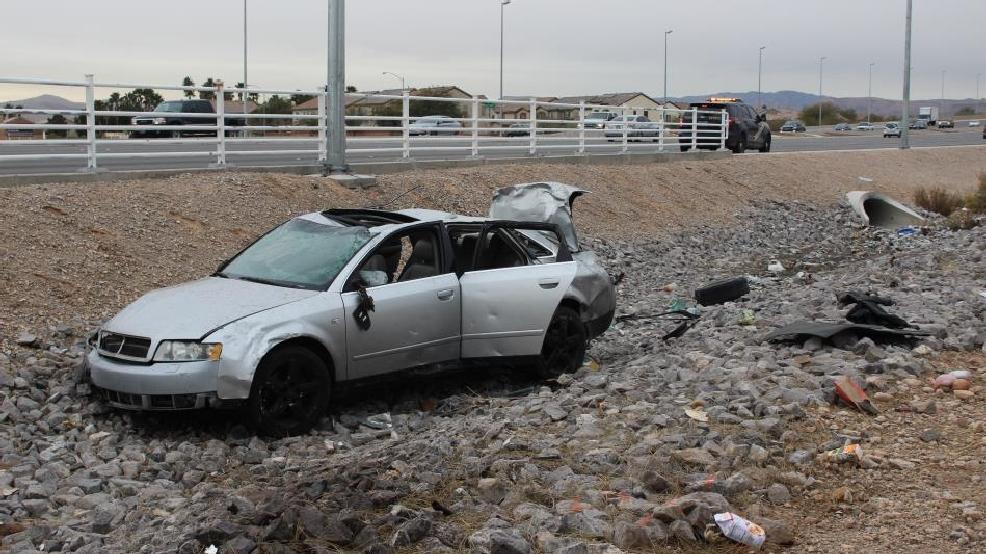 Driver Dies 8 Days After Rollover Crash On Blue Diamond Near