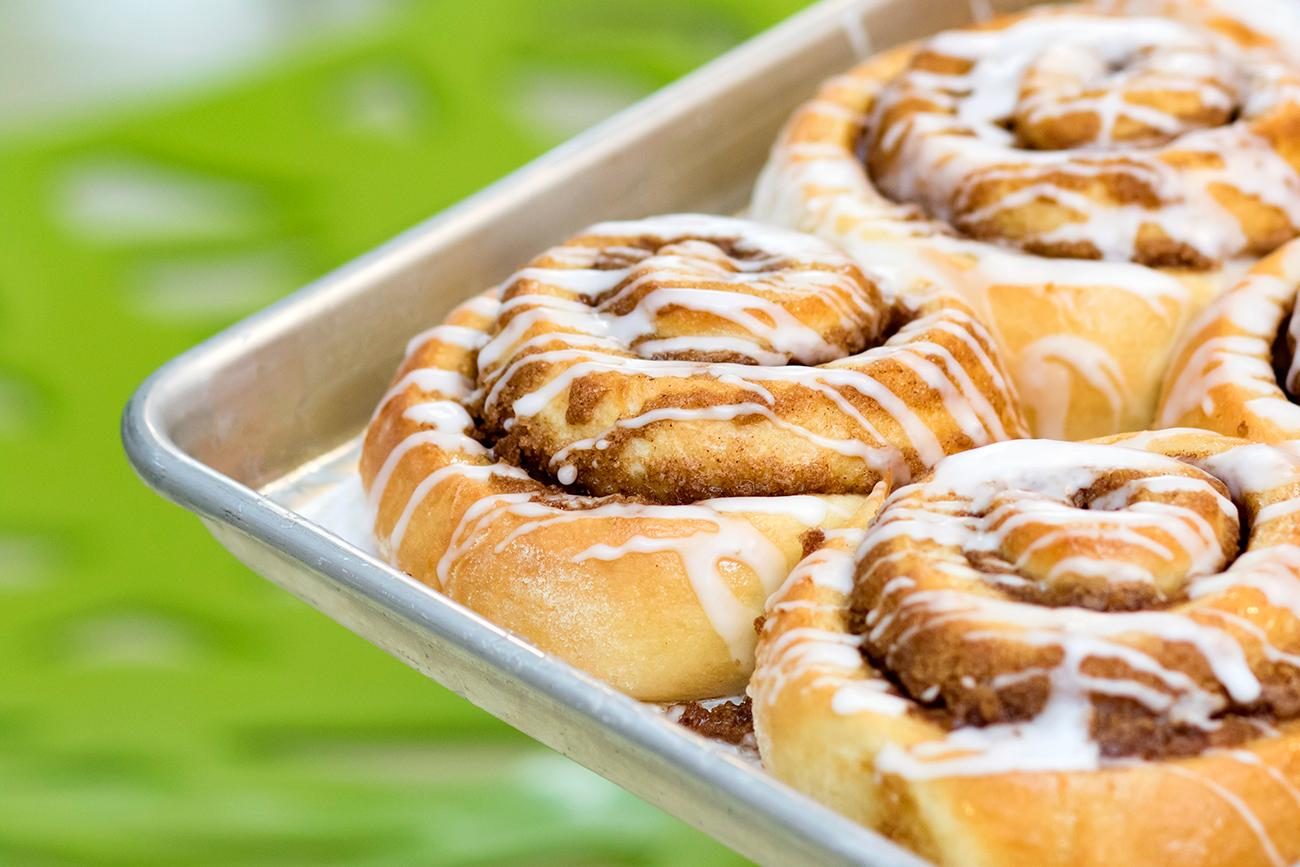 Some very tasty-looking sticky buns from Fork and Pie Bakery / Image: Allison McAdams